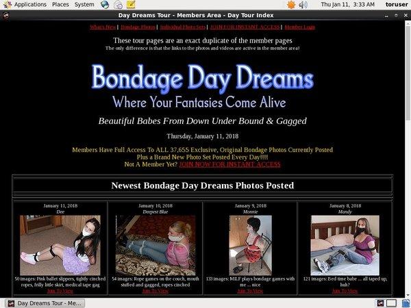 Bondage Daydreams On Sale