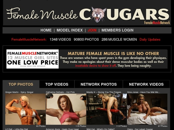 Female Muscle Cougars Net