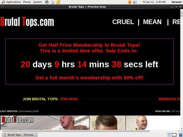 Free Brutal Tops User