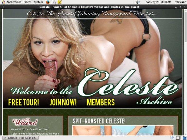 Free Video TS Celeste