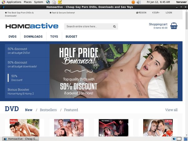 Join Homoactive With Paypal