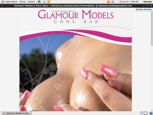 Password Glamour Models Gone Bad