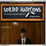 Sordid Auditions V2 Photos