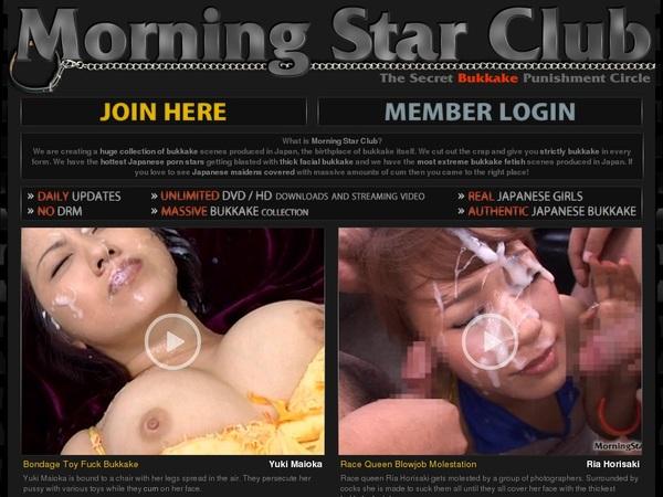 Account Morning Star Club