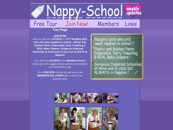 Join Nappy School For Free
