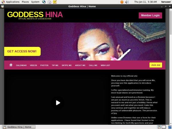 Goddesshina.modelcentro.com Paypal Access