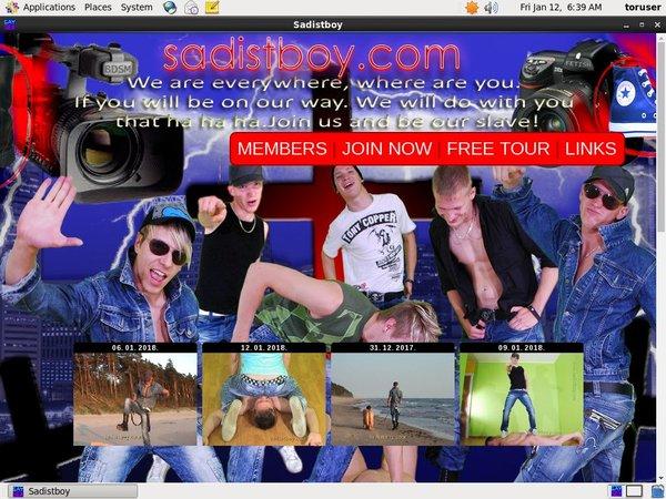 Sadistboy.com Network Password