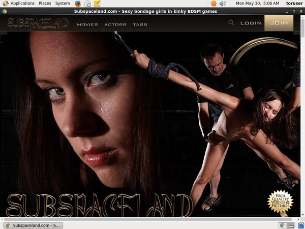 Subspace Land Pro Biller Page