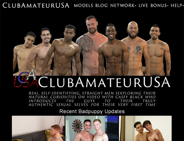 Club Amateur USA Updated Passwords