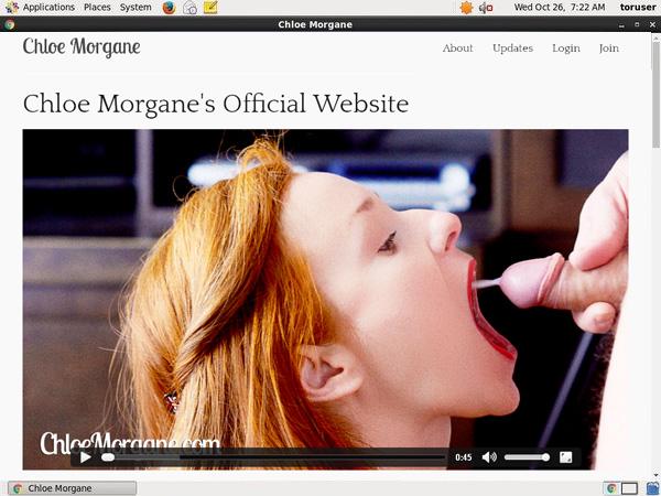 Chloemorgane.com Accounta