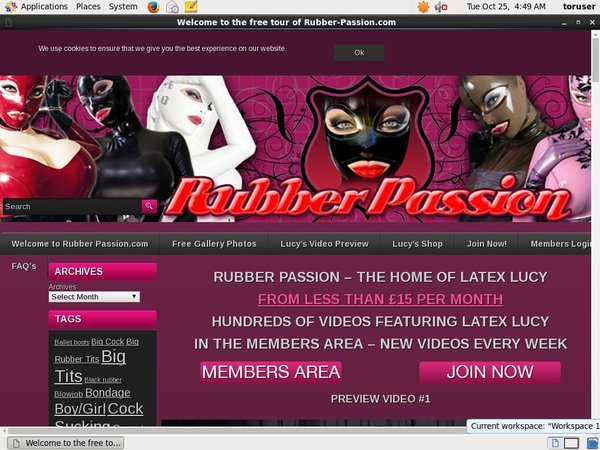 Create Rubberpassion Account