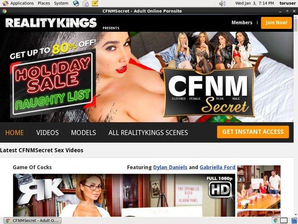 Accounts Of Cfnmsecret.com
