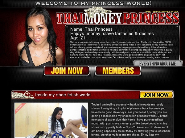 Get Into Thaimoneyprincess.com