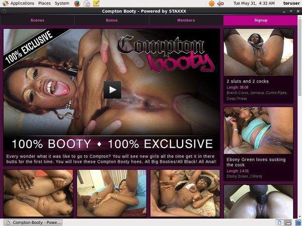Comptonbooty.com Account Online